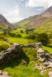 Green valley Snowdonia Stock Image