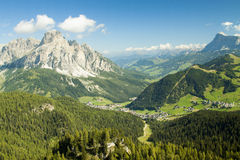 Corvara Royalty Free Stock Image