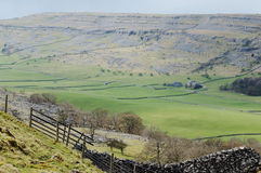 Green Valley - Yorkshire Royalty Free Stock Photo