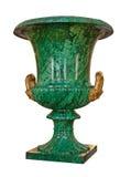 Green vase Stock Photo
