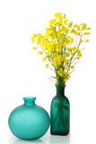 Green vases Royalty Free Stock Image