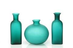 Green vases Royalty Free Stock Photos