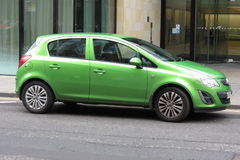 Green Vauxhall Astra Royalty Free Stock Image