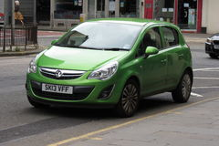 Green Vauxhall Astra Royalty Free Stock Photography