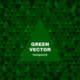 Green vector background Royalty Free Stock Image