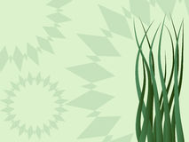 Green vector backgrounds. Royalty Free Stock Photo