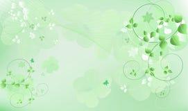 Green vector illustration Stock Image