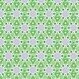 Green vector pattern Royalty Free Stock Photography