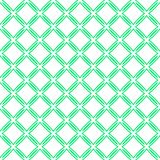 Green vector seamless pattern. Abstract geometric template background. Repeated ornamental texture. Fresh endless. Texture. Lightgreen grid decorative motif royalty free illustration