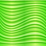 Green vector wavy abstract background Stock Photo