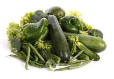Green vegetable Royalty Free Stock Photos