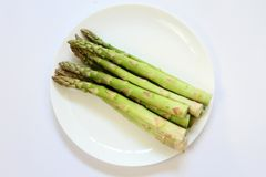 Green vegetable Asparagus Royalty Free Stock Photography