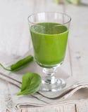 Green vegetable juice Stock Image