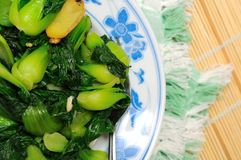 Green vegetable side dish Royalty Free Stock Photography