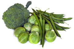 Green Vegetables Stock Photos