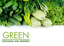 Green vegetables Stock Photography