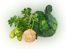 Green vegetables Royalty Free Stock Photo