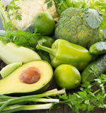 green vegetables. Royalty Free Stock Photography