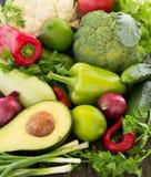 green vegetables. Stock Photo