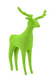 Green Velvet Reindeer Royalty Free Stock Images