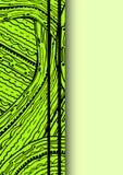 Green vertical cover Stock Photos