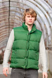 Green Vest Royalty Free Stock Image