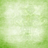 Green victorian background with space for text or Royalty Free Stock Images