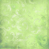 Green victorian background with space for text or Royalty Free Stock Photography