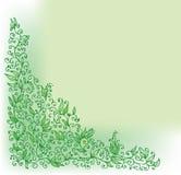 Green vignette VI Stock Image