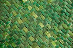 Bamboo Vimini weaving texture background. Green Vimini Bamboo weaving texture background pattern royalty free stock photography
