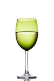 Green vine glass Stock Photos
