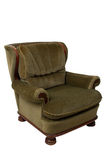Green vintage armchair Stock Image