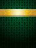 Green vintage background Stock Photography
