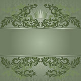 Green Vintage Background Royalty Free Stock Image