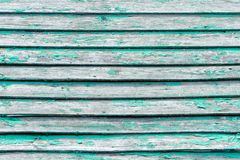 Green vintage board. Horizontally arranged. Texture. Background.  Stock Photography