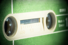 Green vintage Cassette Tape Stock Images