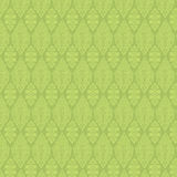 Green Vintage Damask Seamless Wallpaper Stock Photo