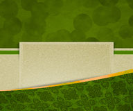 Green Vintage Exclusive Background. Beautiful Green Vintage Exclusive Background Royalty Free Stock Images