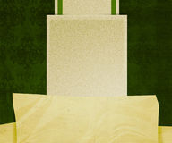 Green Vintage Exclusive Background. Green 'n' Beige Vintage Exclusive Background Stock Photography