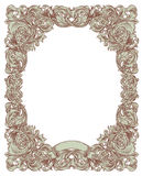 Green vintage frame Stock Photography