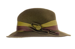 Green vintage hat Stock Image