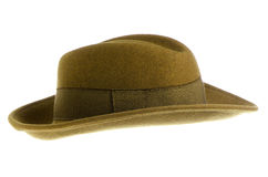 Green vintage hat Royalty Free Stock Photo