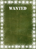 Green vintage poster Royalty Free Stock Photo