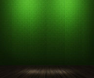 Green Vintage Room Background Royalty Free Stock Image