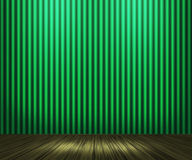 Green Vintage Room Background Stock Images