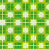 Green Vintage Seamless Pattern royalty free stock photography