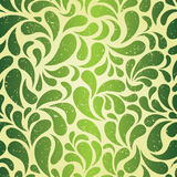 Green vintage wallpaper Royalty Free Stock Images
