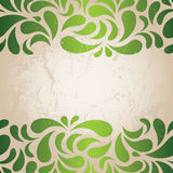 Green vintage wallpaper Stock Photos
