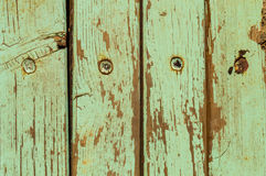 Green Vintage Wood Stock Photography