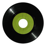 Green vinyl record Royalty Free Stock Photography